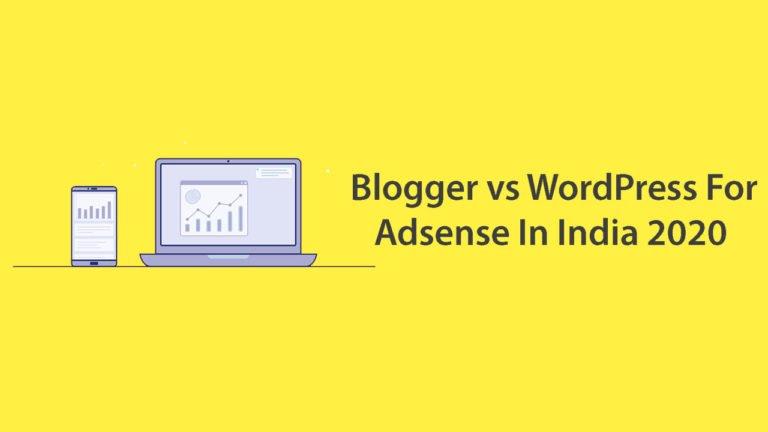 Blogger Vs WordPress Which Is Best
