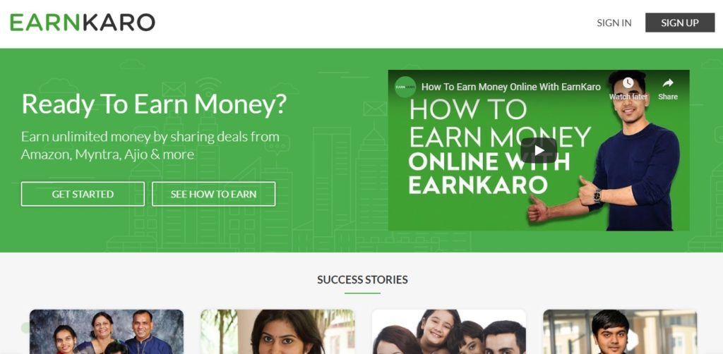 How To Make Money Through Earnkaro