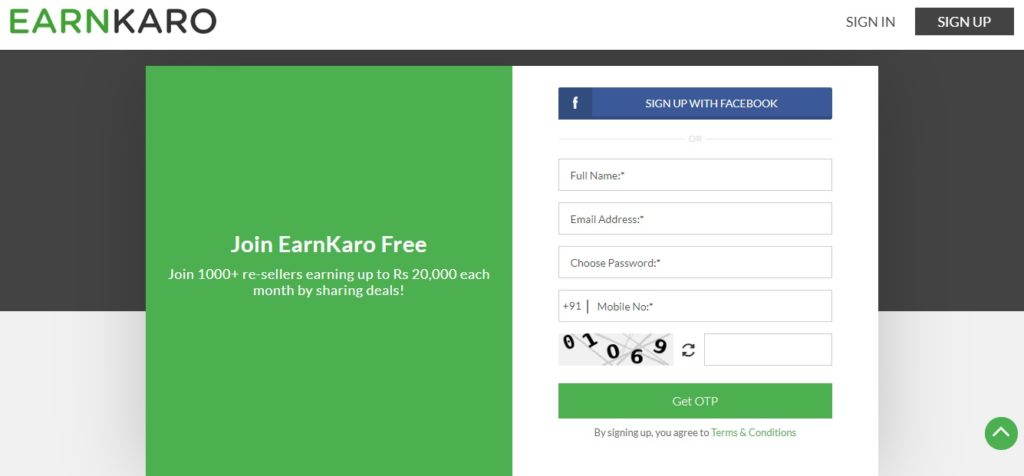 earnkaro login