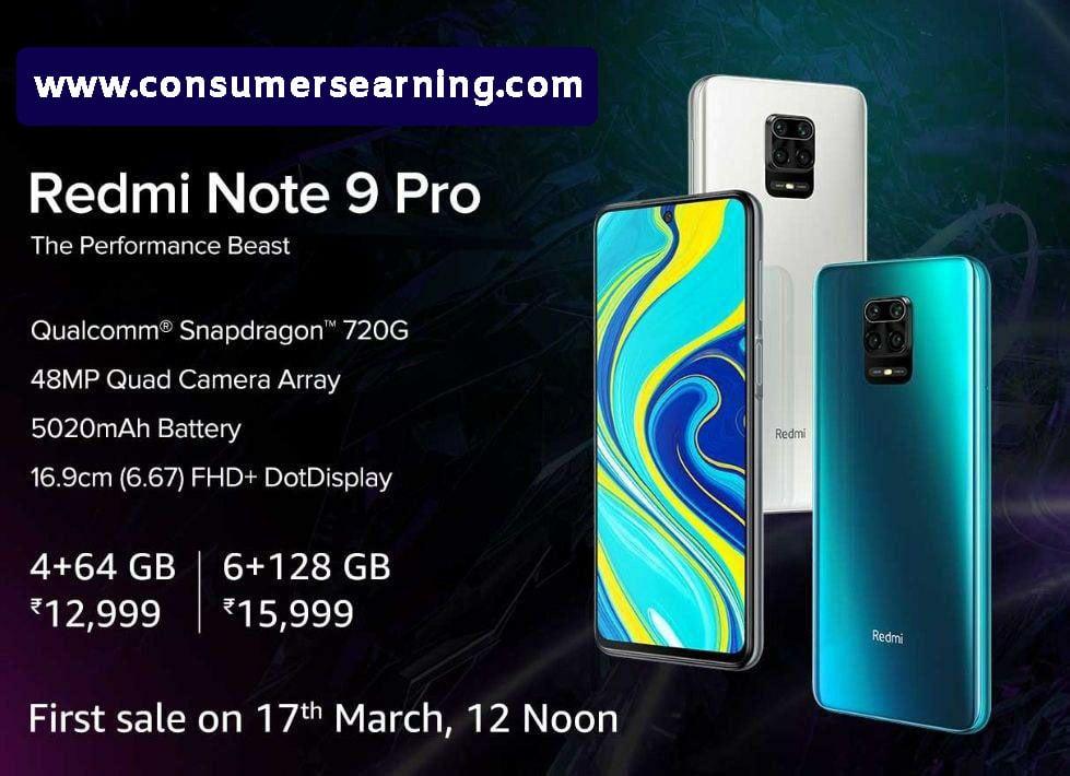 Redmi Note 9 Pro Max, Redmi Note 9 Pro