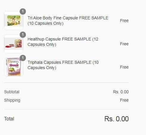free samples products