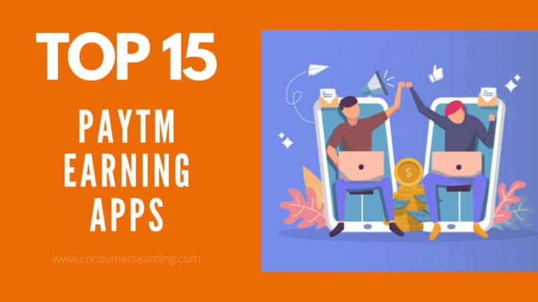 Paytm Earning Apps