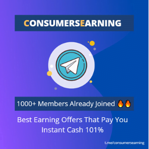 Join Consumersearning Telegram