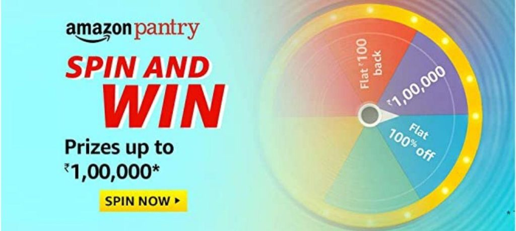 Amazon Pantry Spin And Win Quiz Answers