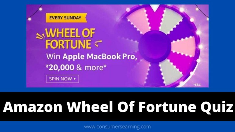 Amazon Wheel Of Fortune Quiz Answers