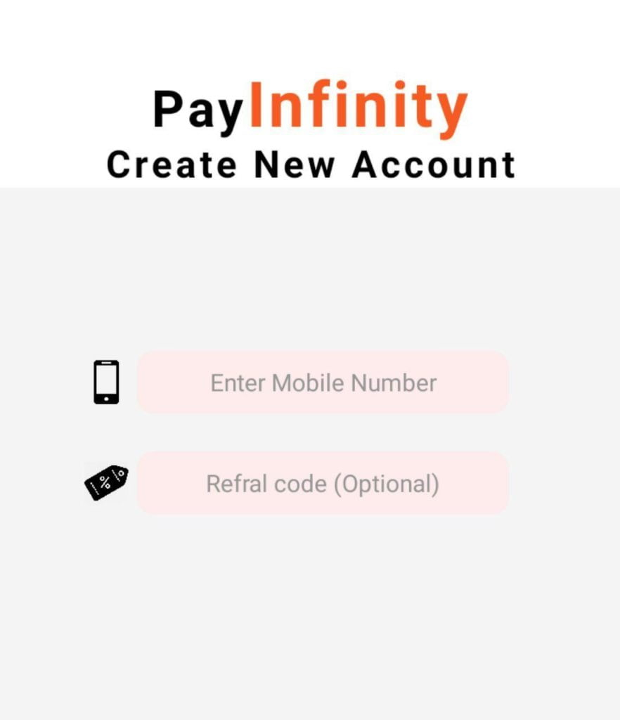 PayInfinity App Referral Code