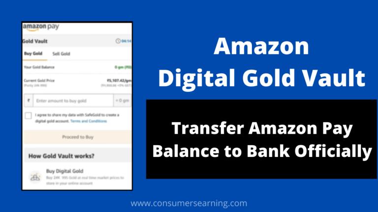 Amazon Digital Gold Vault