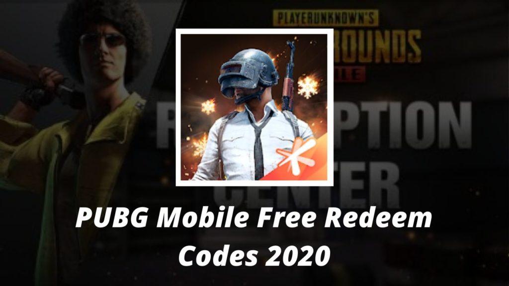 PUBG Mobile Redeem Codes
