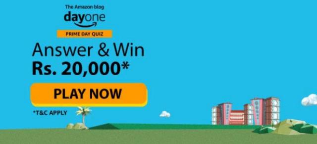Amazon Blog Dayone Prime Day Quiz Answers