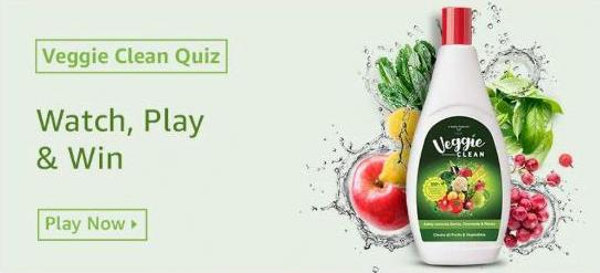 Amazon Veggie Clean Quiz