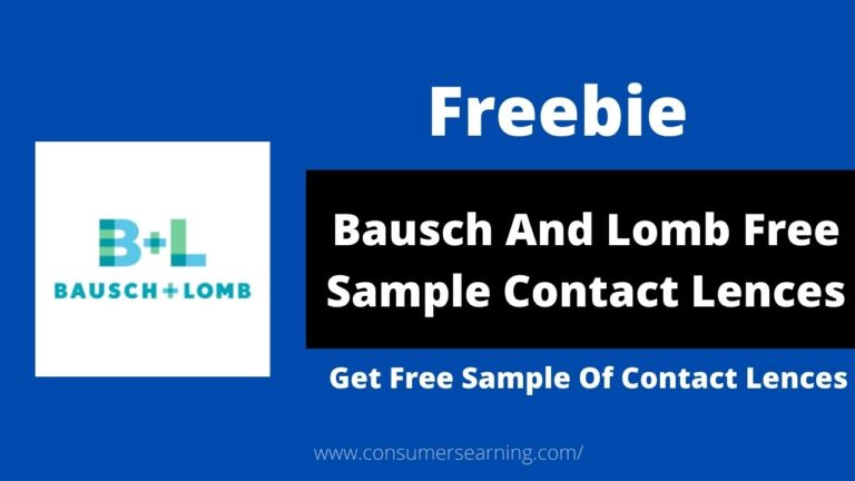 Bausch And Lomb Free Sample Contact Lences
