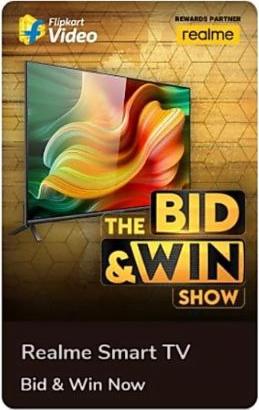 Flipkart The Bid and Win Show
