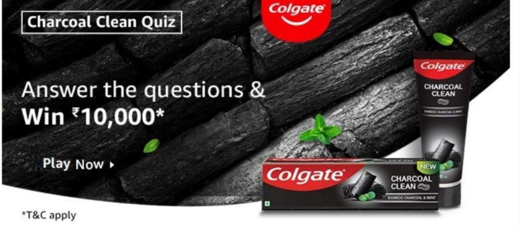 Amazon Charcoal Clean Quiz