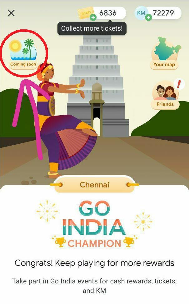 Google Pay Go India Game 'Goa' Event Quiz Answers