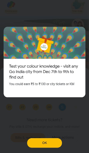 Google Pay Go India Colour Event