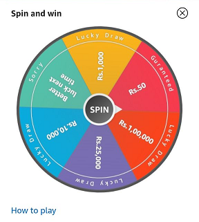 December Edition Spin and Win