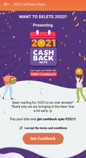 FreeCharge Cashback Days