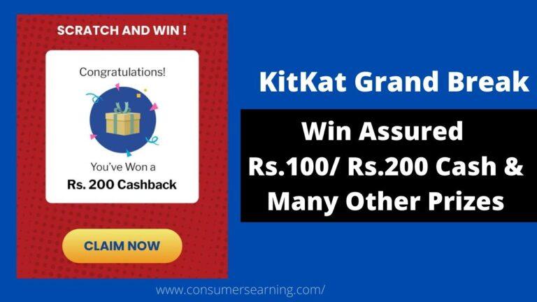 Kitkat Grand Break contest Loot