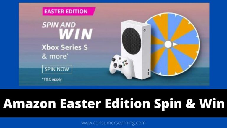 Amazon Easter Edition Spin And Win Quiz Answer - Win Xbox Series S