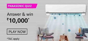 Amazon Panasonic Air Conditioners Quiz Answers