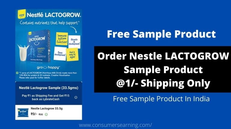 Free Sample Products In India