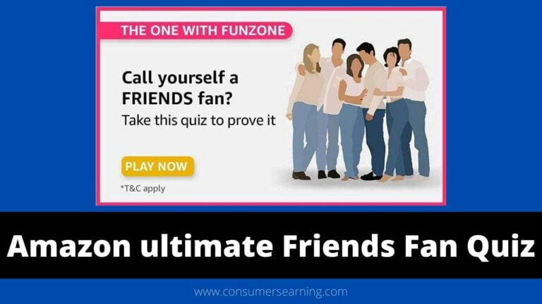 Amazon The ultimate Friends Fan Quiz Answers