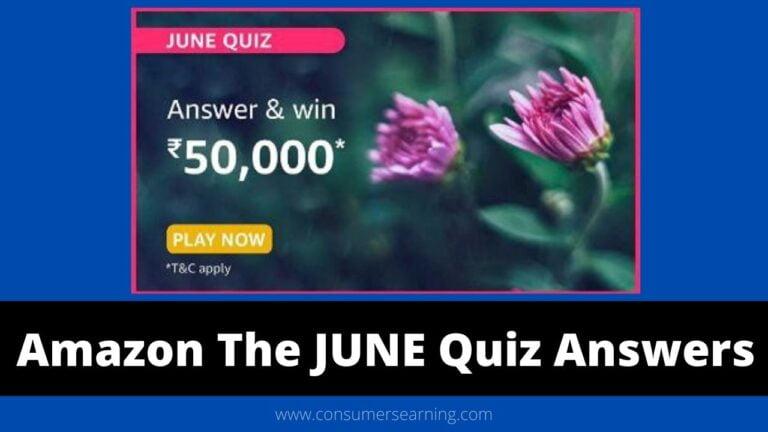 amazon the june quiz