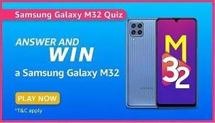 Amazon Samsung Daily Quiz Answers