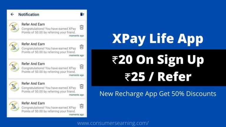 XPay Life Referral Code