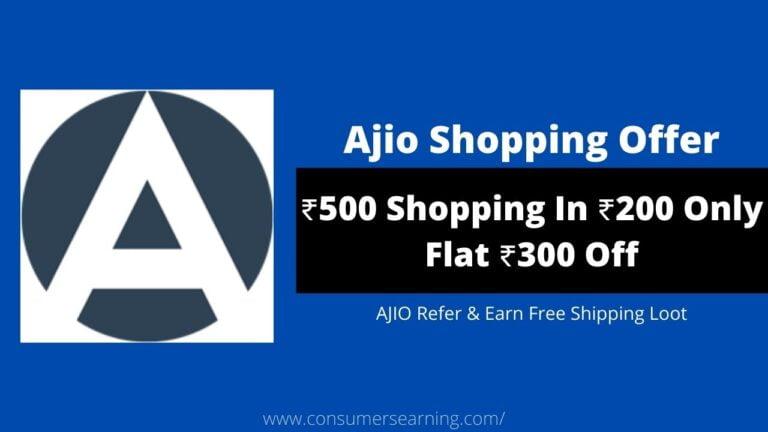 Ajio Referral Code
