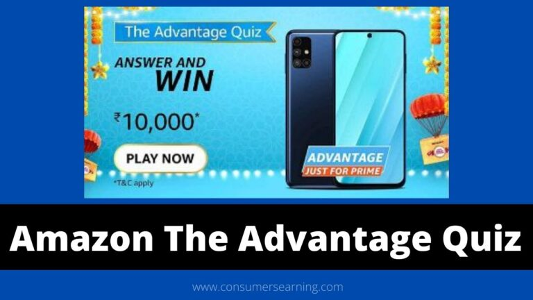 Amazon Advantage Just For Prime Quiz Answers Today