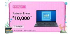 Amazon Intel Laptop Quiz