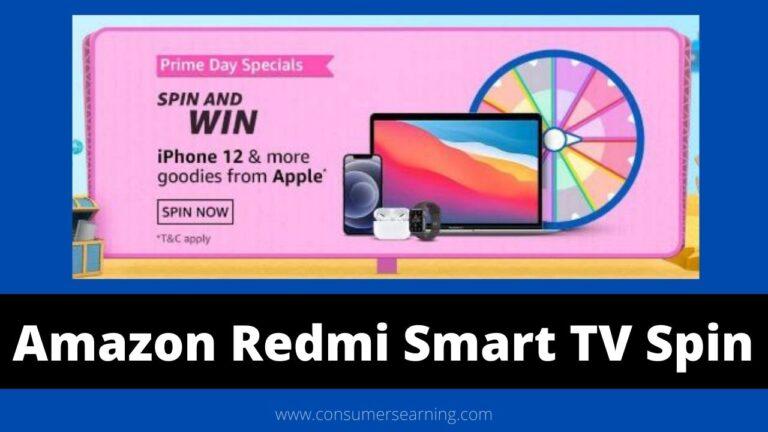 Amazon Redmi Smart Tv Spin And Win Quiz Answers