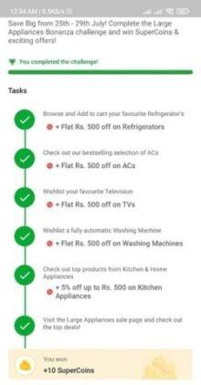 Large Appliances Bonanza Challenge Free Supercoins