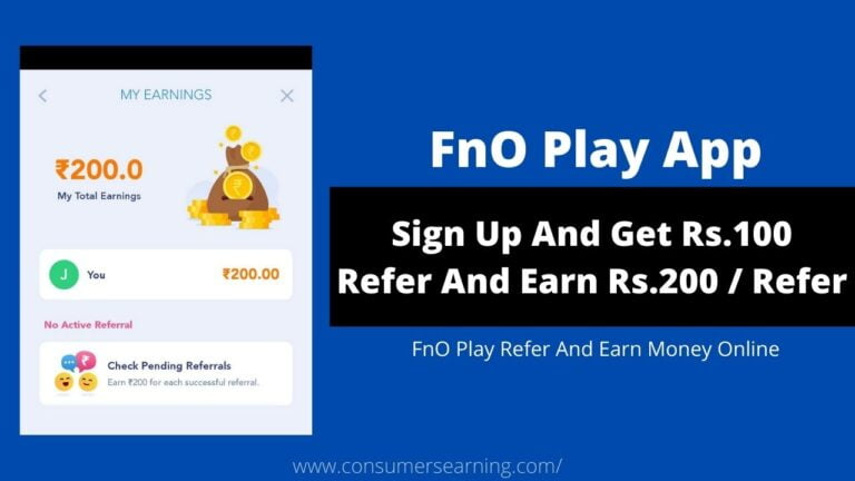 FnO PLAY Refer And Earn