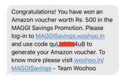 Maggi Savings Lot Number Winner
