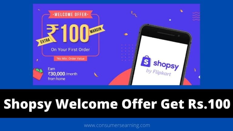 Shopsy Welcome Offer