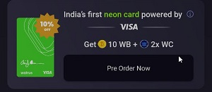 Walrus App Free Card Pre Order