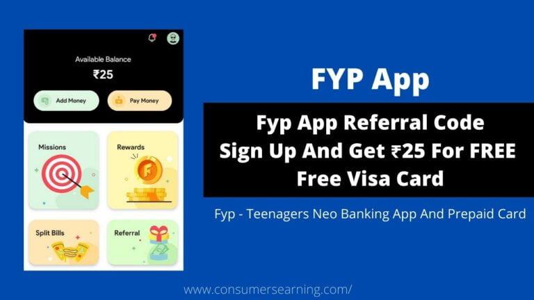 Fyp App Referral Code