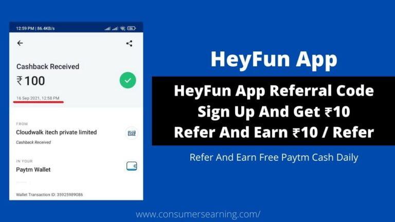 HeyFun App Referral Code