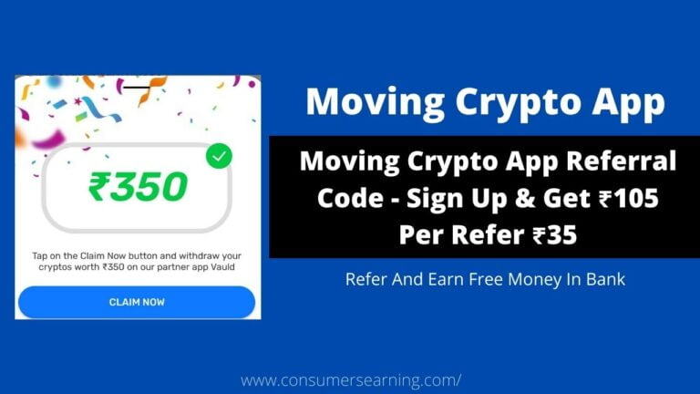 Moving Crypto App Referral Code