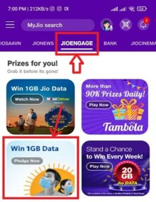My Jio Nestle Face Of Hope Offer