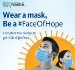 MyJio Nestle Face Of Hope Offer