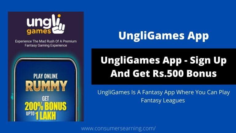 UngliGames App Referral Code